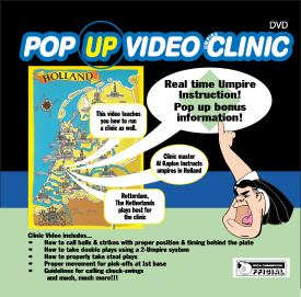 POP-UP VIDEO UMPIRE CLINIC